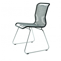 Panton One Chair - Black