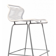 Panton One Barstool - White