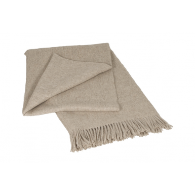Image of Classic Throw - Beige