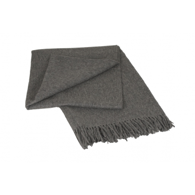 Image of Classic Throw - Grey