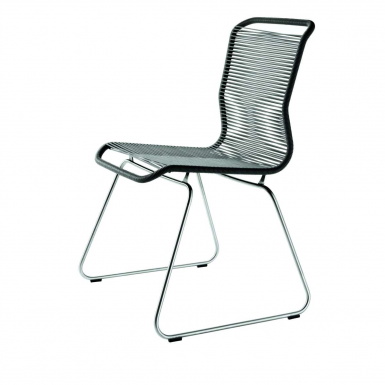 Image of Panton One Chair - Black