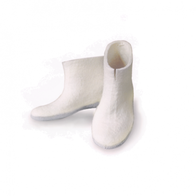 Image of White Indoor Boots