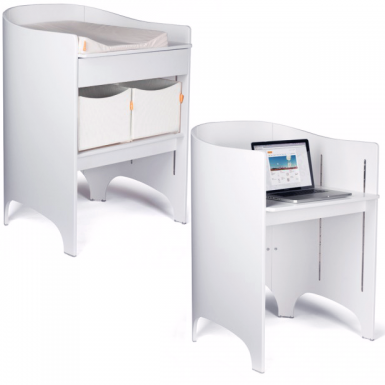 Image of Leander Change Table - White