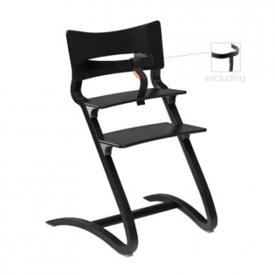 Image of Leander Chair - Black - Ex Safety Bar
