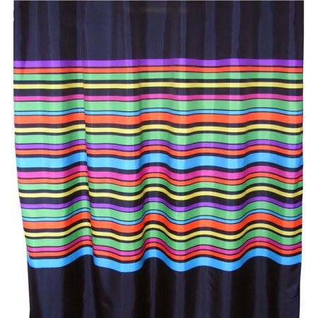 Multi Shower Curtains - Black