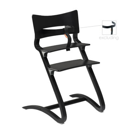 Leander Chair - Black - Ex Safety Bar
