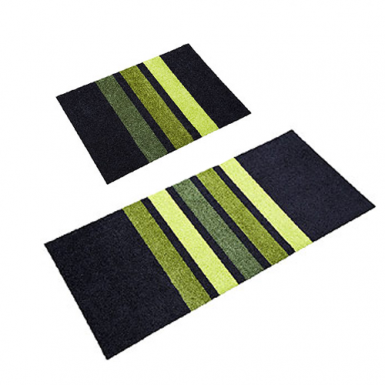 Image of All Round Mat - Black/Lime