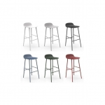 Form Barstool - Steel