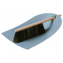 Dustpan and Broom - Light Grey