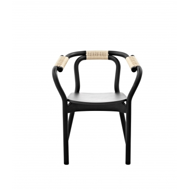 Image of Knot Chair black/nature