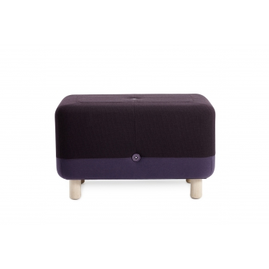 Image of Sumo Pouf - Purple