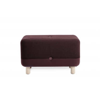 Image of Sumo Pouf - Dark Red