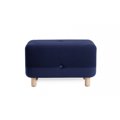 Image of Sumo Pouf - Dark Blue