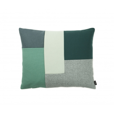 Image of Brick Cushion - Green