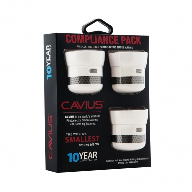 Image of Cavius Smoke Alarm Compliance Pack