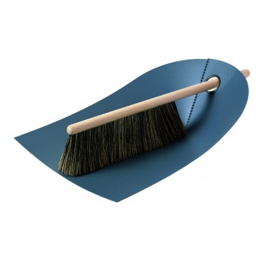 Image of Dustpan and Broom - Dark Grey