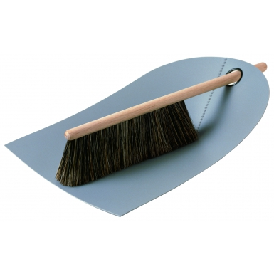 Image of Dustpan and Broom - Light Grey