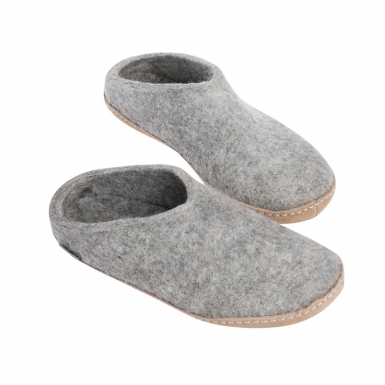 Image of Grey Shoe No Heel