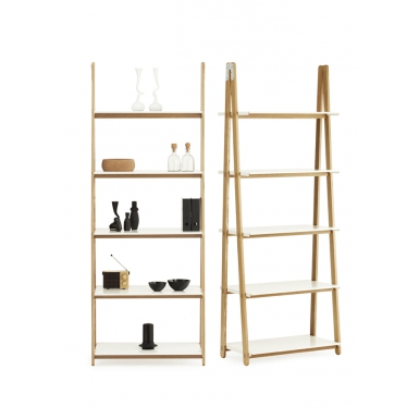 Image of One Step Up Bookcase - High