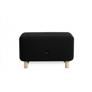 Image of Sumo Pouf - Black