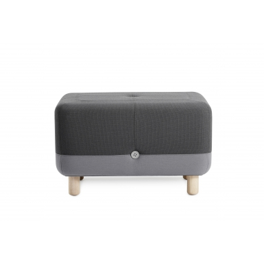 Image of Sumo Pouf - Grey