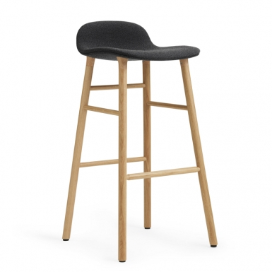 Image of Form Barstool - Upholstery