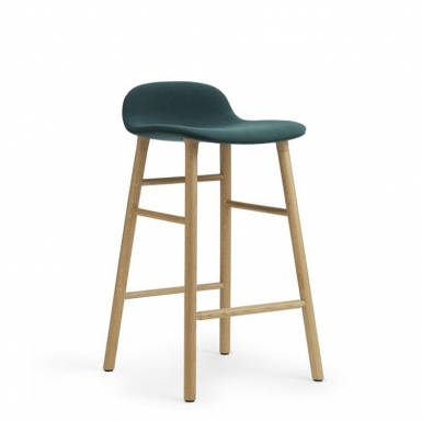 Image of Form Kitchen Stool - Upholstery
