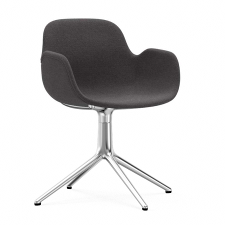 Form Armchair Swivel Upholstery