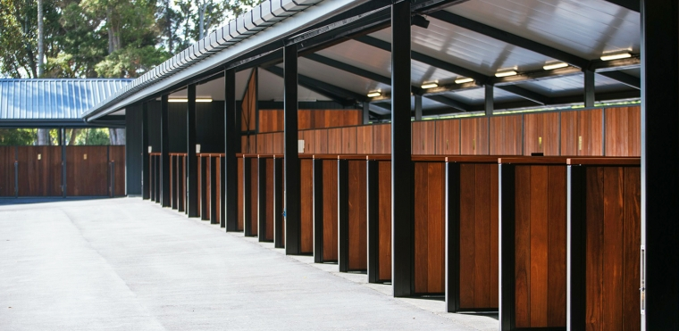Project  |  Ellerslie Racecourse Stables