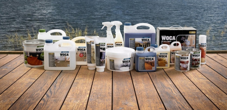 WOCA Exterior Oil Application